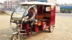 Electronic  Rickshaw on Hire