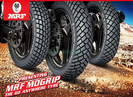 Motorcycle MRF Tyre