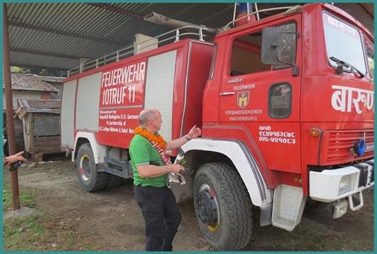 Fire Truck - Ratnanagar Chitwan