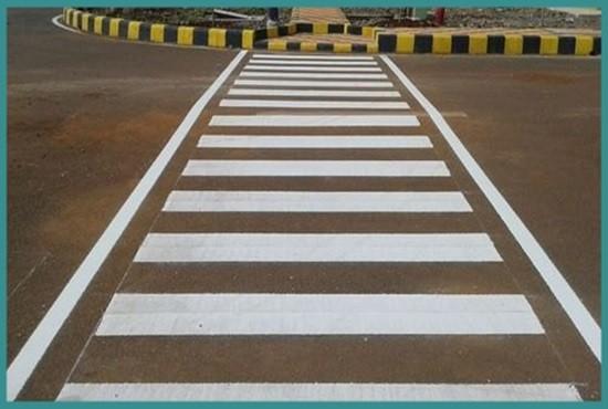 Thermoplastic Road Markings