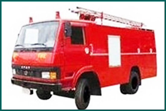 Fire Truck - Khairahani Municipality